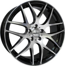 "Alloy Wheels 18"" Calibre Exile-R Black Polished Face For Fiat Ducato [Mk3] 07-16"
