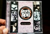 The Ultimate History Of Rock N Roll - Those Were The Days  -  CD, VG