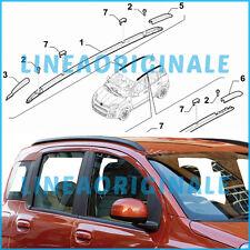 Barre Longitudinali ORIGINALI Fiat Panda portatutto portapacchi nere 735558514