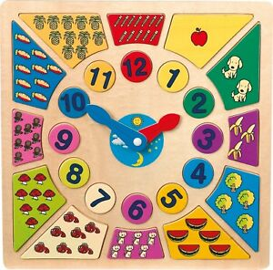 Learn to Tell the Time - Clock, Early Learning  Centre, Toys and Games
