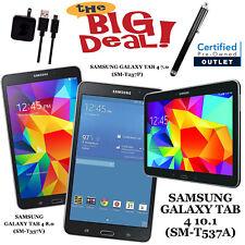 Samsung Galaxy Tab 4 - 16GB,7.0/8.0/10.1-in,Black - Wi-Fi+4G AT&T/Verizon/Sprint