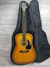Vintage Vega Rare Old C F Martin Acoustic Guitar V646 c.1970s w/ Padded Case