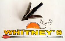 Quality Archery Designs-QAD- Exodus Swept Blades Broadhead - 100 Grain- BX100-S