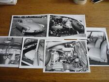 CITROEN ID 19  PRESS OR PUBLICITY PHOTOS x 6  Brochure Related jm