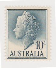 (OS-44) 1955 AU 10d grey blue MUH SG282c (D)