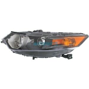 NEW LEFT SIDE HEAD LAMP LENS AND HOUSING FITS 2009-2014 ACURA TSX AC2502118
