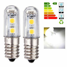 2x E14 1W 220V White Warm White LED Light Bulb for Cooker Hood Chimmey Fridge UK
