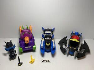 DC Batman & Joker Imaginext Vehicle Bundle - Joblot - x4