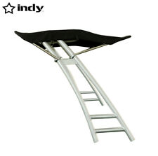New listing Indy Max forward facing boat wakeboard tower anodized w indy max foldable bimini
