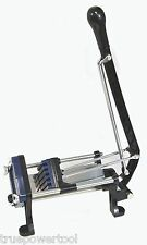Heavy Duty French Fry Cutter, Wall Mount, Thick or Thin Cutting Frames