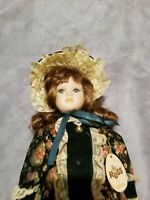 Russ Berrie & Co. Collectible Porcelain Doll with tag