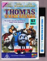THOMAS THE TANK ENGINE THE MAGIC RAILROAD VHS VIDEO TAPE