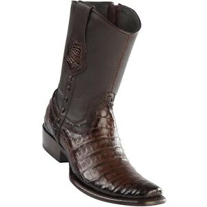 Men's Wild West Caiman Belly Boots Dubai Toe Handcrafted