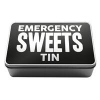 Emergency Sweets Tin  Metal Storage Tin Box A026 Novelty Gift Idea Kitchen