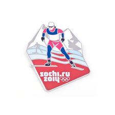 Sochi 2014 XXII Winter Olympic Games Pin Badge CROSS COUNTRY SKIING 1 Rio