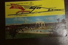 post card Washburn's Motel,  Rocky Mount North Carolina