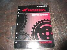 HONDA 2005 2006 2007 2008 2009 2010 2011 2012  TRX250TE TM ATV SERVICE MANUAL
