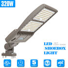 320W LED Parking Lot Light Outdoor Commercial Area Street Pole Lighting 44800LM