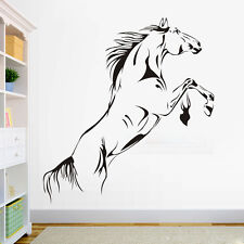 Removable Horse Jumping Wall Decal Vinyl Stickers Living Room Decor Mural Art