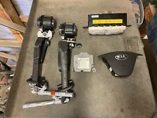2014 2015 2016 Kia Forte Pair of Airbags, Module & Both Front Seat Belts