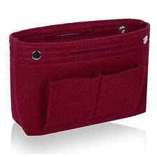 JET-BOND Felt Handbag Organizer JJ34 Multi Pocket Liner Insert Purse Tote Shaper