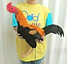 doll chickens for trainning roosters collectibles kids toy crafts equipment art