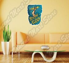 "Flash Of The God Zeus Thunder Olympus Mount Wall Sticker Interior Decor 20""X25"""