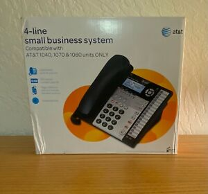 AT&T 4 Line Expandable Corded Phone System 1070 Brand New in Box
