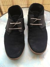 Chaussures montantes/boots cuir homme noir T41