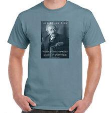 Albert Einstein Quote about Vegetarian Diet, Mens, Ladies, Youth, NWT