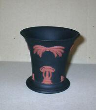 Wedgwood Jasperware Black Terracotta Egyptian Posy Vase