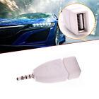 1*car Parts Aux Audio 3.5mm Male Plug To Usb 2.0 Female Converter Adapter Jack