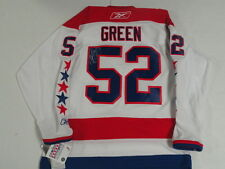 MIKE GREEN SIGNED REEBOK WASHINGTON CAPITALS 2011 WINTER CLASSIC JERSEY JSA COA