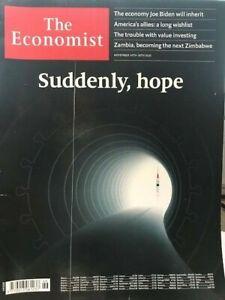 MAGAZINE THE ECONOMIST N°46 SUDDENLY, HOPE -NOVEMBER 14TH- 20TH 2020
