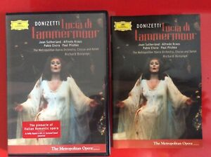 Lucia Di Lammermoor dvd Metropolitan Opera Joan Sutherland