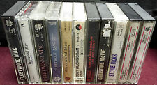 FLEETWOOD MAC 11 Cassette Tape Lot RUMOURS Mirage BEHIND THE MASK Stevie Nicks +