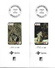 Apollo 11 - 25th Anniversary 1969-94 Limited Edition Sprint Phord Cards