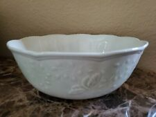 "NEW LENOX BUTTERFLY MEADOW LEAF 9"" SERVING BOWL"