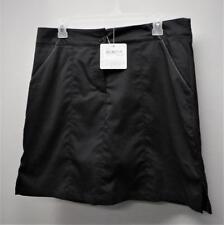 New Ladies Size 8 Nancy Lopez Class black golf skorts polyester spandex