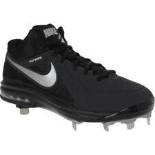 New listing New Nike Air MVP Elite Baseball Metal Cleats Black / Silver Sz 14 M Retail