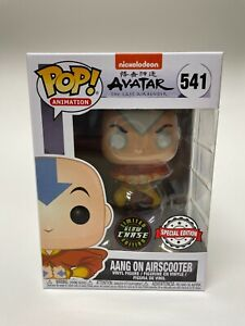 Funko Pop Avatar Aang on Airscooter CHASE Special Edition #541 w protector