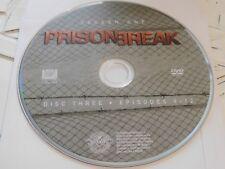 Prison Break First Season 1 Disc 3 DVD Disc Only 43-14