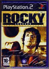 PS2 Rocky Legends ( 2004 ), UK Pal, Brand New & Sony Factory Sealed