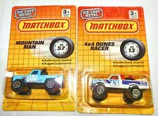 SUPERFAST MB57 MOUNTAIN MAN & MB13 4X4 DUNES RACER 1990 THAILAND  DIECAST