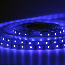 12Volt 3528 1/2/3/5M Flexible SMD LED Strip Lights TV Ceiling Adhesive + Adaptor