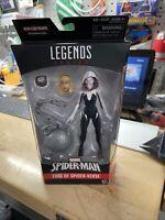 "SPIDER-GWEN Marvel Legends Spider-man-Verse Absorbing Man BAF 2017 6"" Figure"