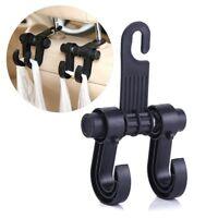 1X Car Seat Back Headrest Hook Holder Plastic Hanger Fit For Bag Purse Cloth II