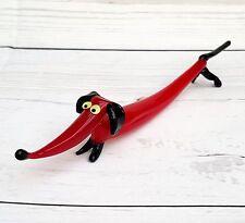 Dachshund Sausage Dog Weiner Doxie Dachsie Glass Ornament Figurines New From UK