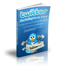 Twitter Marketing Made Easy PDF eBook with resale rights!