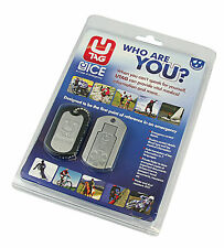 UTAG ICE Dogtag In Case of Emergency USB When you can't speak for yourself